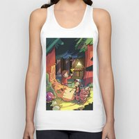 gravity falls Tank Tops featuring Gravity Falls by Izzy