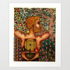 Cycles & Patterns Art Print