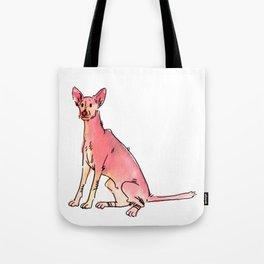 Sage - Dog Watercolour Tote Bag