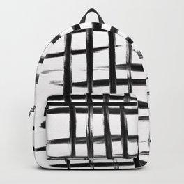 Natural Grid Backpack