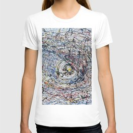 One of Pollock's eye T-shirt