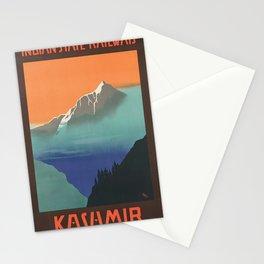 Vintage poster - Kashmir Stationery Cards