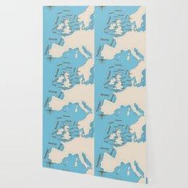 meteorological Shipping forecast. Wallpaper