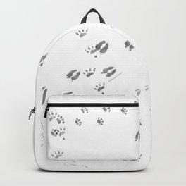 Animal Tracks of North America Backpack