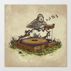 wood vinyl Canvas Print