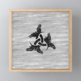 Horn of Odin Framed Mini Art Print