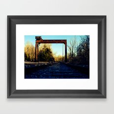 Less Traveled  Framed Art Print