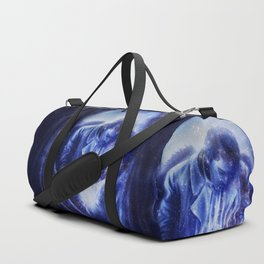 Angel in Blue Duffle Bag