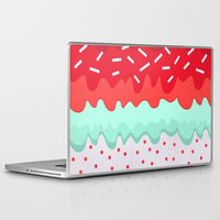 cupcake Laptop & iPad Skins featuring Cupcake by Kakel