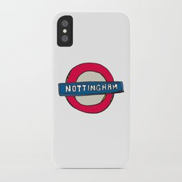 tube sign iPhone Case