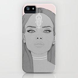 Ocean girl iPhone Case