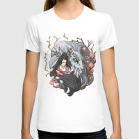 kitsune T-shirts featuring Kitsune by Julia Nguyen