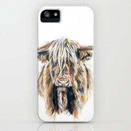 HIGHLAND BULL // STAY WILD iPhone Case