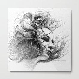 Viento Metal Print