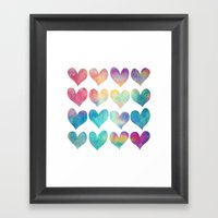 A Colorful Kind Of Love  Framed Art Print