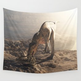 Acrocanthosaurus  Wall Tapestry