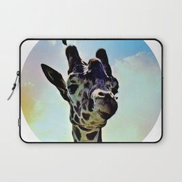 Don't Forget Your Giraffe! Laptop Sleeve