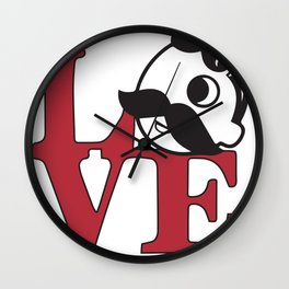 Love Natty Boh Wall Clock