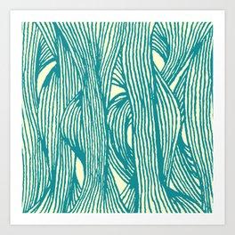 Inklines IV Art Print