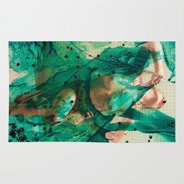 Smaragd shower - nude in bathroom Rug