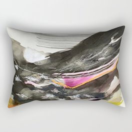 Day 44: The exchange between a tired body and a lively mind. No peace can be held in the soul until Rectangular Pillow