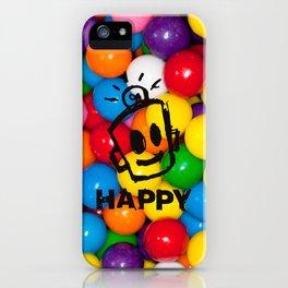 HAPPY GUMBALLS iPhone Case