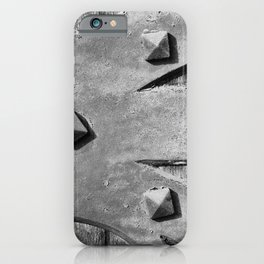 Hinges On The Cathedral Door iPhone Case