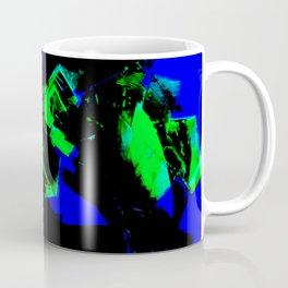 Happy Chaos (Blue & Green) Coffee Mug