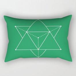 Merkabah Rectangular Pillow