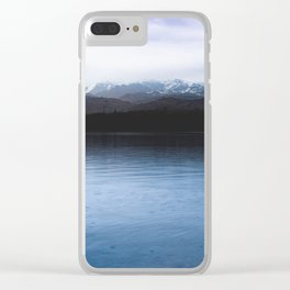 Cold Water - 80/365 nature lake photography Clear iPhone Case