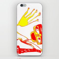 give me 5 in blue iPhone & iPod Skin