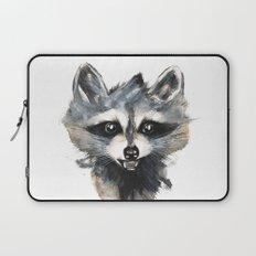 Raccoon stealing seeds! Laptop Sleeve