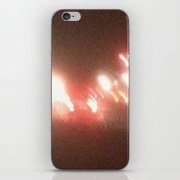 Abstracte Light Art in the Dark 8 iPhone Skin