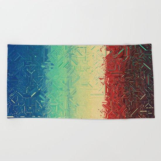 Manufactured Colour Beach Towel