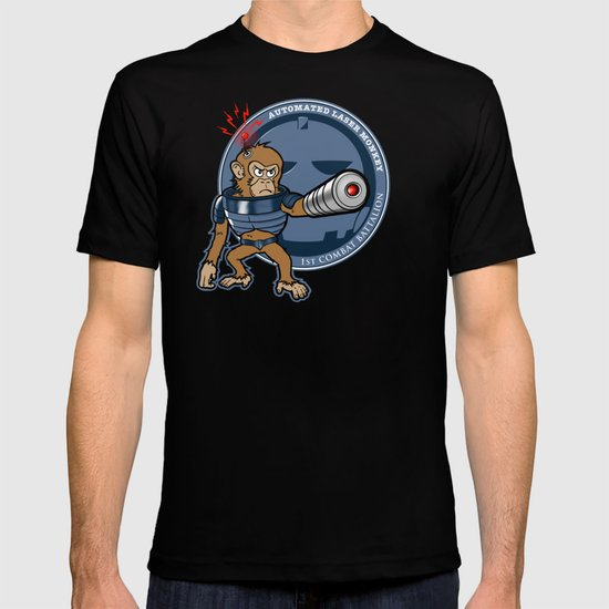 Automated Laser Monkey T-shirt