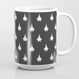 Jet Fighter Pattern Coffee Mug