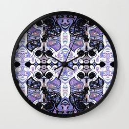 Symmetrical Cat (180i) Wall Clock