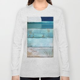 Beach Moonrise Long Sleeve T-shirt