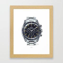 Omega Speedmaster Framed Art Print