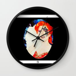 Lady Stardust Wall Clock