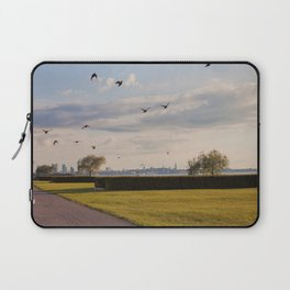 HyperReality Shift. Starling Flyover. Laptop Sleeve