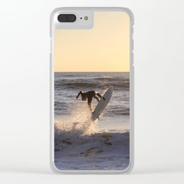 Against the Sun Clear iPhone Case