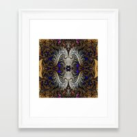 ornate Framed Art Prints featuring Ornate by RingWaveArt