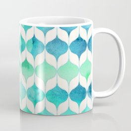 Ocean Rhythms and Mermaid's Tails Coffee Mug