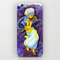 aladdin iPhone & iPod Skins featuring Aladdin by Mottinthepot
