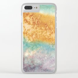 Flow Study 1 Clear iPhone Case