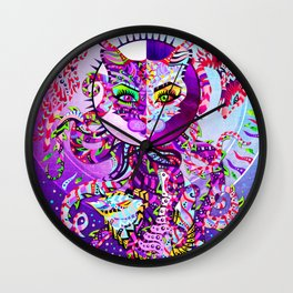 Cat and dog Wall Clock
