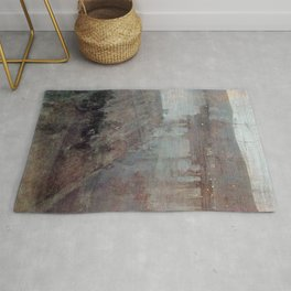 Nocturne In Blue And Gold Valparaiso Bay By James Mcneill Whistler | Reproduction Rug