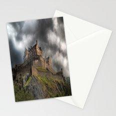 Rain Clouds Over Edinburgh Castle Stationery Cards