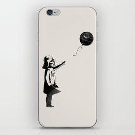 Let go the dark side iPhone Skin